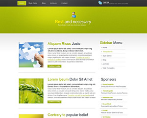 Free Website Templates | Wicked Web Templates